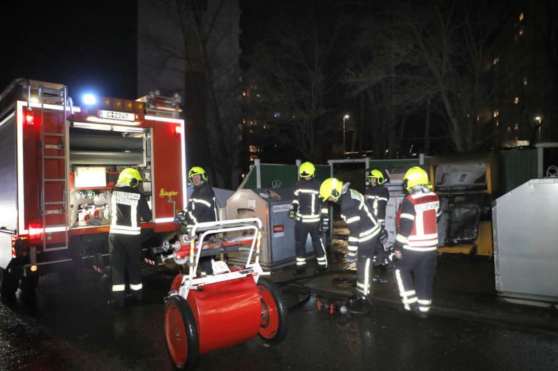 Container in Brand geraten