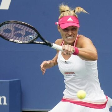 Angelique Kerber bei US Open locker in Runde zwei